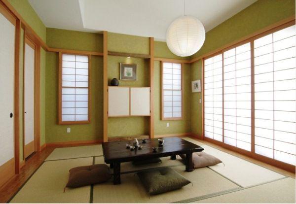 дизайн комнаты в японском стиле фото