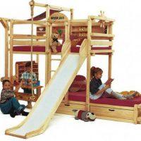 двухъярусная кровать для детей фото 13