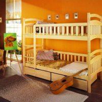 двухъярусная кровать для детей фото 29