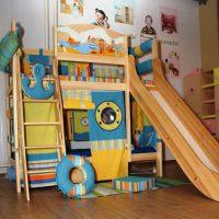 двухъярусная кровать для детей фото 37