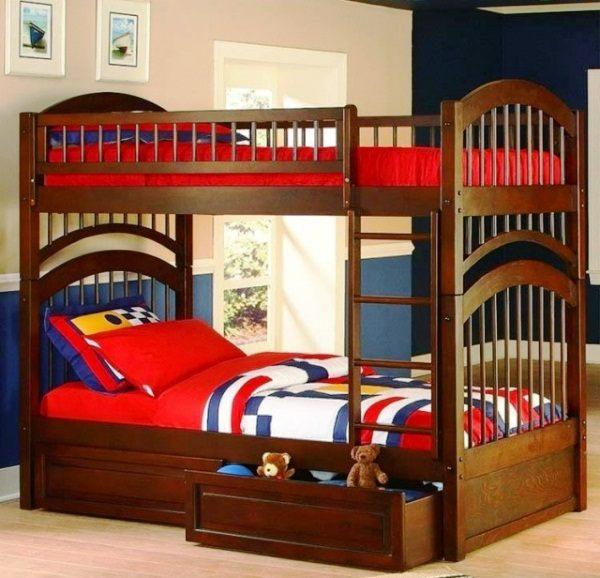 двухъярусная кровать для детей фото 5