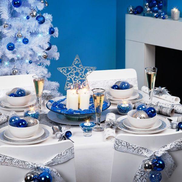 Новогодние столы фото самое красивое оформление