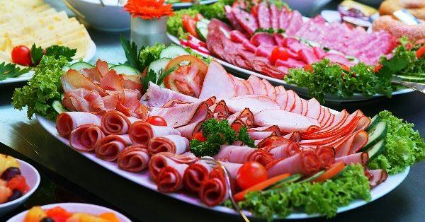 Украшение блюд к праздничному столу фото