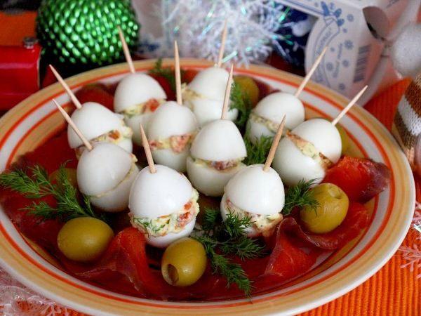 Украшение праздничных блюд своими руками фото