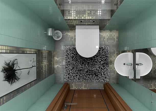 туалет совмещенный с ванной фото