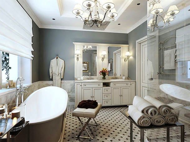 мебель для ванной комнаты фото 14