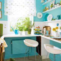 образцы штор на кухню фото 21