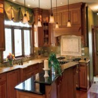 образцы штор на кухню фото 32