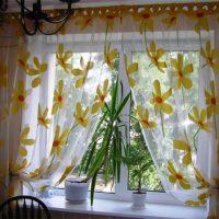 образцы штор на кухню фото 59
