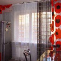 образцы штор на кухню фото 60