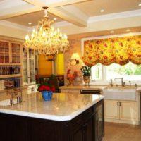 образцы штор на кухню фото 8