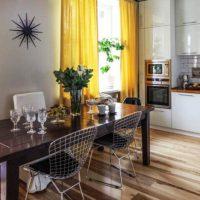 образцы штор на кухню фото 9