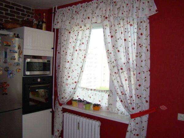 шторки для кухни фото