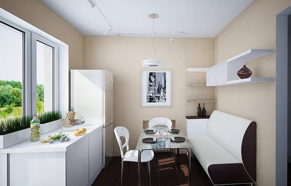 кухонный уголок для маленькой кухни фото