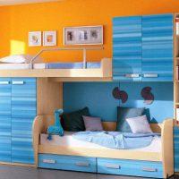 детская спальня для двоих детей фото 14