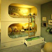 детская спальня для двоих детей фото 2
