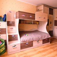 детская спальня для двоих детей фото 20