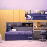 детская спальня для двоих детей фото 22