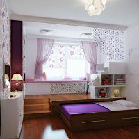 детская спальня для двоих детей фото 35