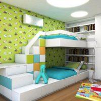 детская спальня для двоих детей фото 37