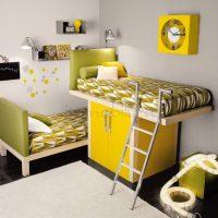 детская спальня для двоих детей фото 38