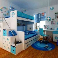 детская спальня для двоих детей фото 4