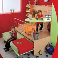 детская спальня для двоих детей фото 41