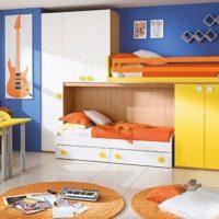 детская спальня для двоих детей фото 43