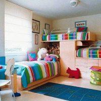 детская спальня для двоих детей фото 44