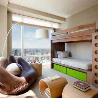 детская спальня для двоих детей фото 48