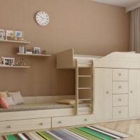 детская спальня для двоих детей фото 9