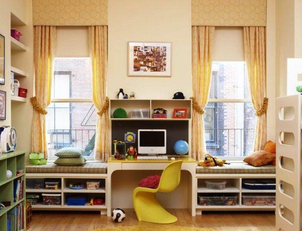 детские комнаты на 2 детей фото