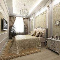 спальни в классическом стиле дизайн фото 20