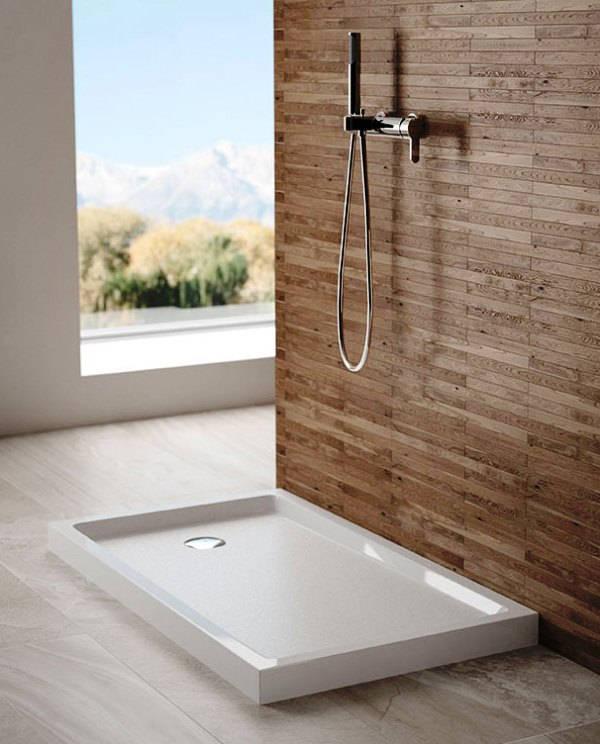 ванная комната с поддоном для душа фото