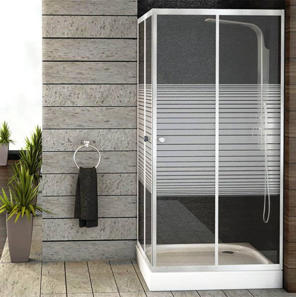 дизайн ванной комнаты с душевым уголком фото