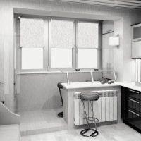 интерьер кухни 9 кв метров фото