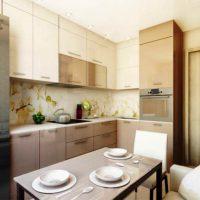 интерьер кухни 9 кв метров фото 25