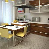 интерьер кухни 9 кв метров фото 48
