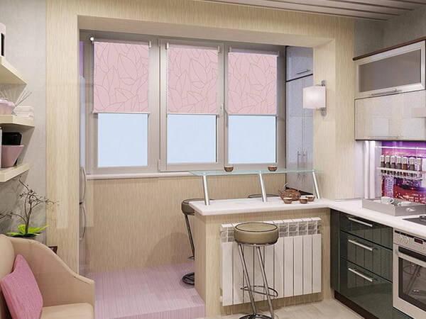 кухня 9 кв метров дизайн фото