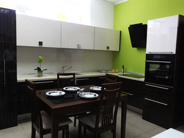 дизайн интерьера кухни 9 кв метров фото