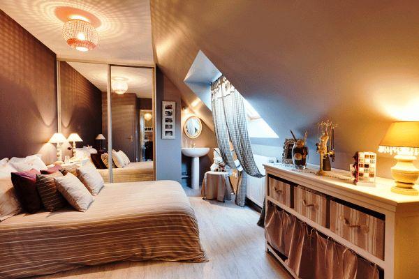 шторы в спальню фото 10