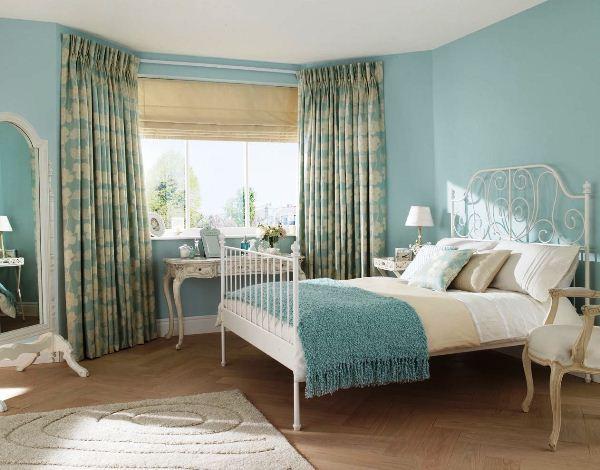шторы в спальню фото 12