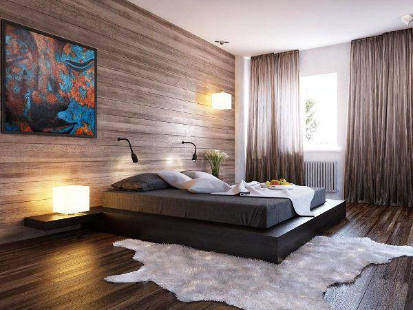 Современные шторы в спальню фото