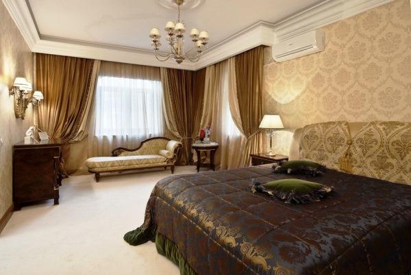 спальня в стиле современная классика фото