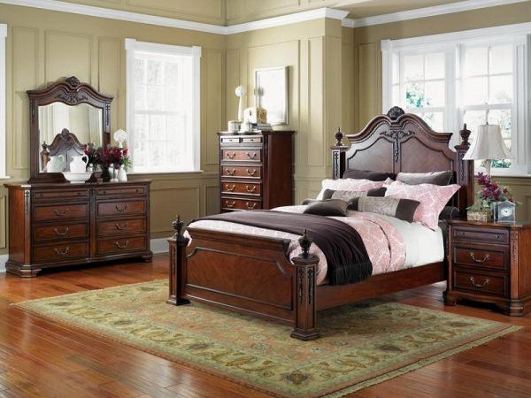 спальня в классическом стиле фото