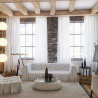 диван в интерьере гостиной фото 42