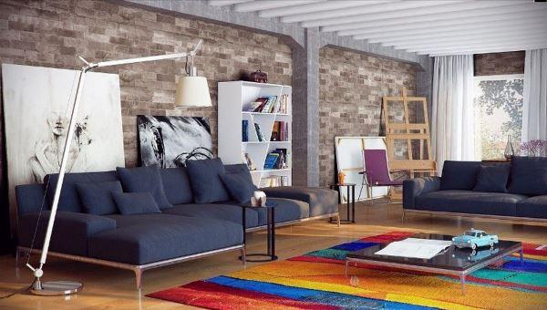 дизайн диванов в гостиной фото