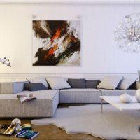 диван в интерьере гостиной фото 19