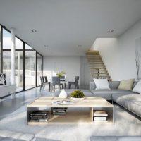диван в интерьере гостиной фото 20
