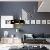 диван в интерьере гостиной фото 23